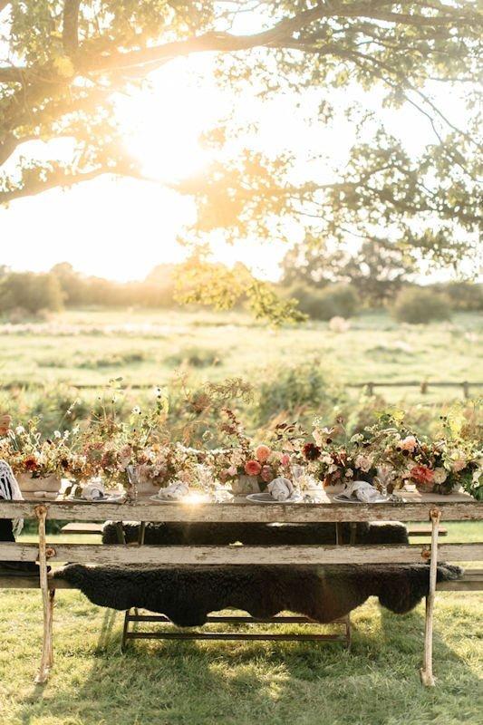 Elegant wedding dining with a British flower tablescape | Image courtesy of belleandbeaublog.com | Limewood Flowers | Lincolnshire wedding florist | Event florist | eco florist
