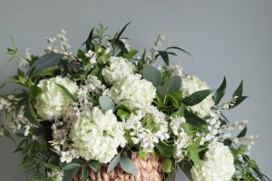 Luxurious white table centerpiece | Limewood Flowers | Lincolnshire wedding florist | Event florist | eco florist